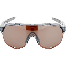 100% S2 Hiper Mirror Lunettes, translucent grey